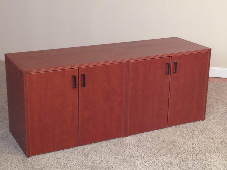 4-Door Storage Credenzas Office Storage