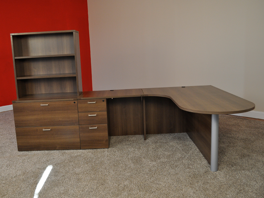 Affordable Office Bullet L Shaped Desk 5 Baystate Furniture Lawrence Ma
