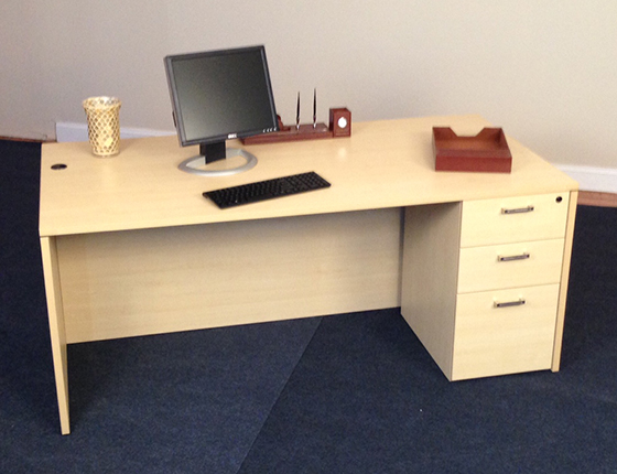 Chelmsford MA Affordable Office Rectangle Desks Baystate