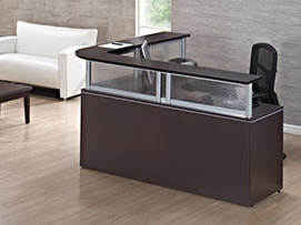 Reception Desk #1 Office Furniture