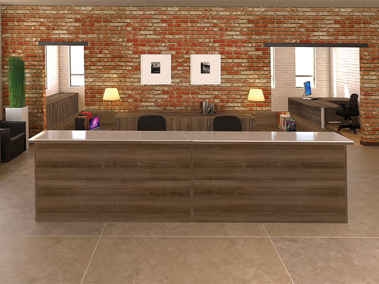 Reception Desk #4 Office Furniture