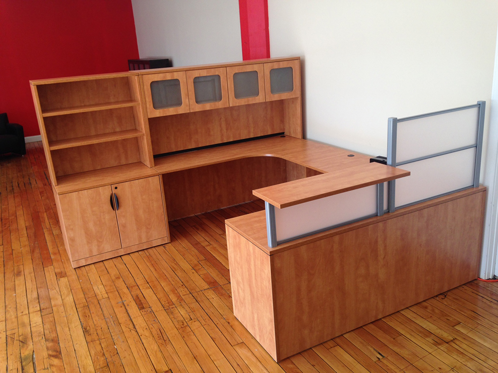 Reception Desk #5 Office Furniture