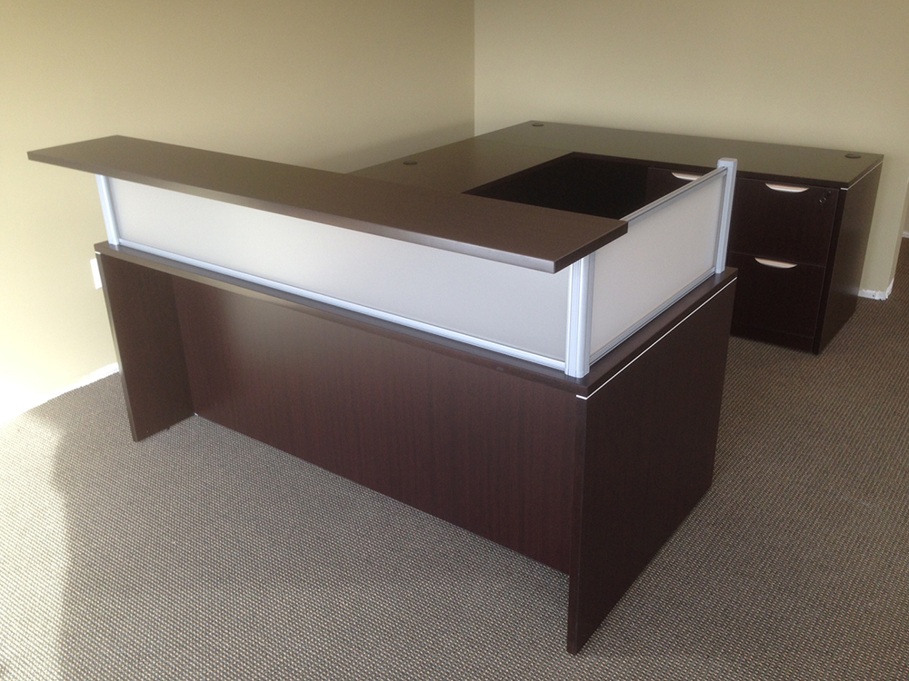 Reception Desk #7 Office Furniture