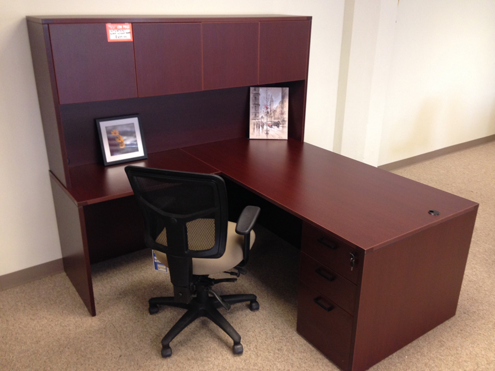 Attirant Affordable Office Rectangular L Desk #10 Baystate Office Furniture  Lawrence, MA