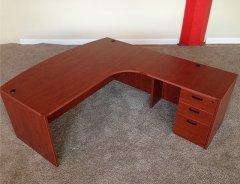 Bowfront L-Shaped Desks