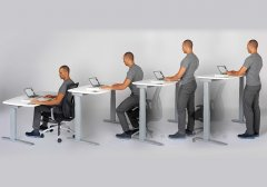 Sit-to-stand Desk Baystate Office Furniture MA NH Boston