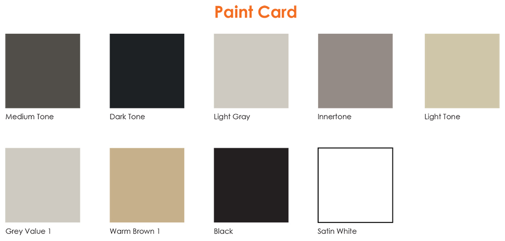 paint color swatches Affordable Office Cubicles