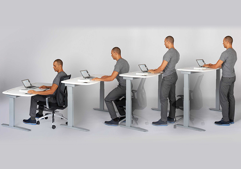 Sit To Stand Desk Baystate Office Furniture MA NH Boston