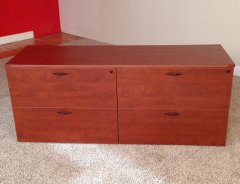 Double Lateral File Credenzas